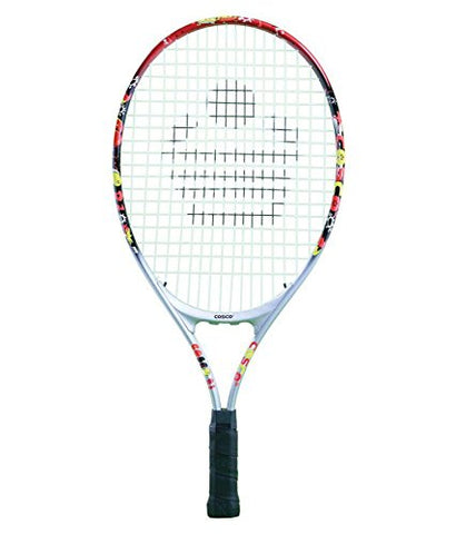 Cosco India Drive Aluminium Tennis Racquet 21 inch for Juniors - Best Price online Prokicksports.com