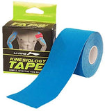 Li-Ning Kinesiology Tape (5 m X 5 cm), Breathable Knit - Blue - Best Price online Prokicksports.com