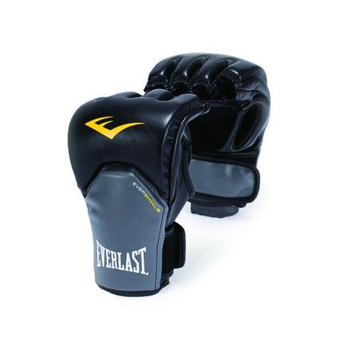 Everlast Powerlock Gloves (Black/Grey) - Best Price online Prokicksports.com