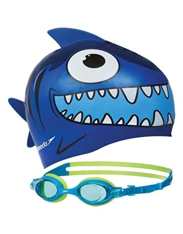 Speedo Squad Cap and Goggle Set, Assorted - Best Price online Prokicksports.com