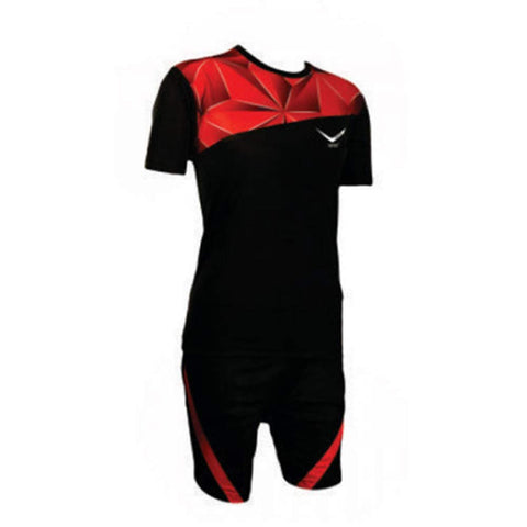 Vicky Diamond Football Jersey, Black/Red - Best Price online Prokicksports.com