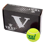 Vicky Cricket Tennis Ball - Super (Heavy) ,Yellow - Best Price online Prokicksports.com