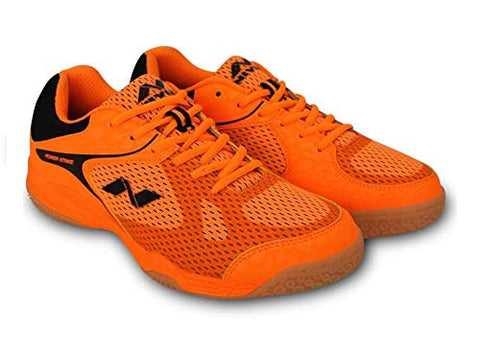 Nivia Powerstrike Badminton Shoe, F Orange - Best Price online Prokicksports.com