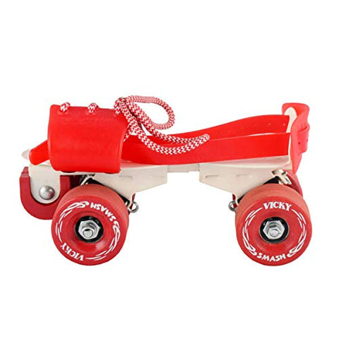Vicky Smash Roller Skates with Brake, Red - Best Price online Prokicksports.com