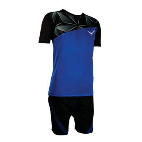 Vicky Diamond Football Jersey, Black/Blue - Best Price online Prokicksports.com