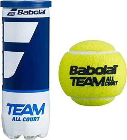 Babolat Team All Court Tennis Ball - 1 Can - Best Price online Prokicksports.com