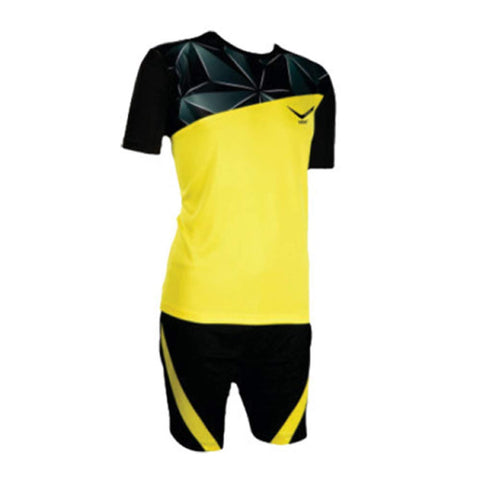 Vicky Diamond Football Jersey, Black/Yellow - Best Price online Prokicksports.com