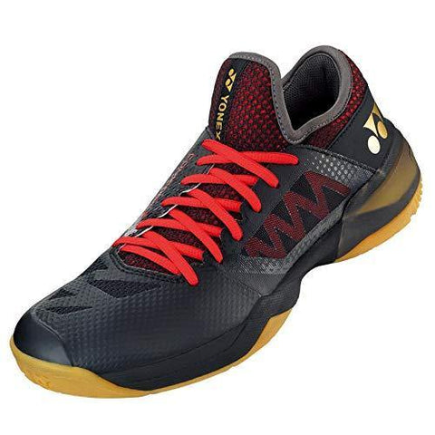Yonex Power Cushion Comfort Z2 Wide Badminton Shoe Black/Red - Best Price online Prokicksports.com