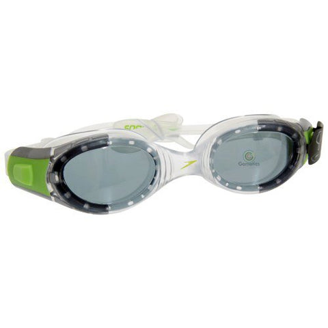Speedo Futura Biofuse Junior Swimming Goggles - Silver Green - Best Price online Prokicksports.com