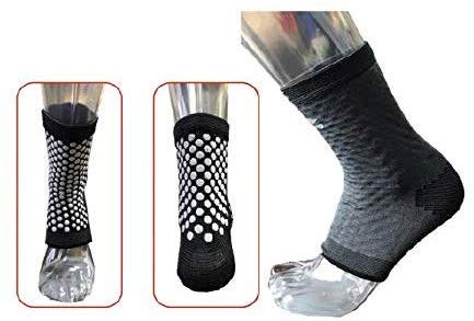 Li-Ning Unisex Ankle Support Suitable for Running, Pain Relief, Gym - Pack of 1 - Grey - Best Price online Prokicksports.com