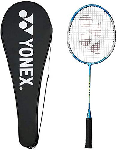 Yonex GR 303 Badminton Racquet with Full Cover - Blue - Best Price online Prokicksports.com