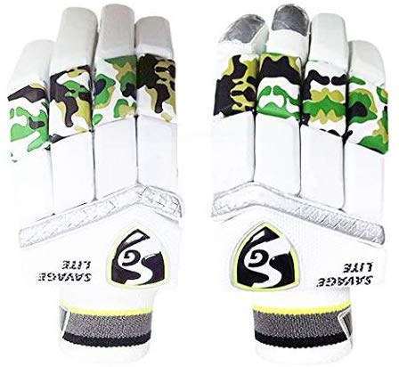 SG Cricket Savage Lite RH Batting Gloves - Best Price online Prokicksports.com