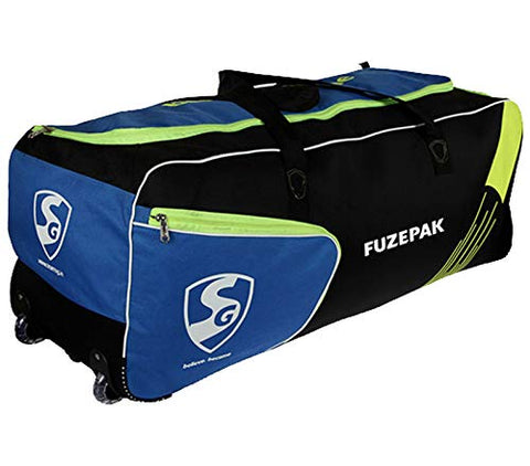 SG Fuzepak Cricket Kit Bag with Wheels and additional Shoe Compartment - Prokicksports.com