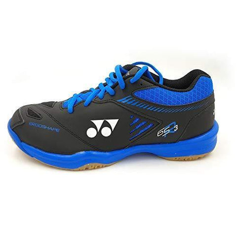 Yonex Power Cushion 65 R3 Ex Non Marking Badminton Shoes, Black/Blue - Best Price online Prokicksports.com