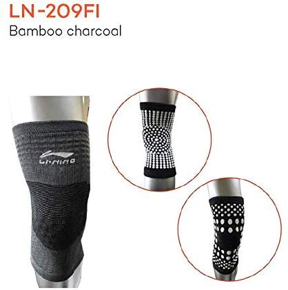 Li-Ning Knee Supporter for Knee Cap Pain, Running, Gym, Sports for Men & Women - Pack of 1 - Grey - Best Price online Prokicksports.com