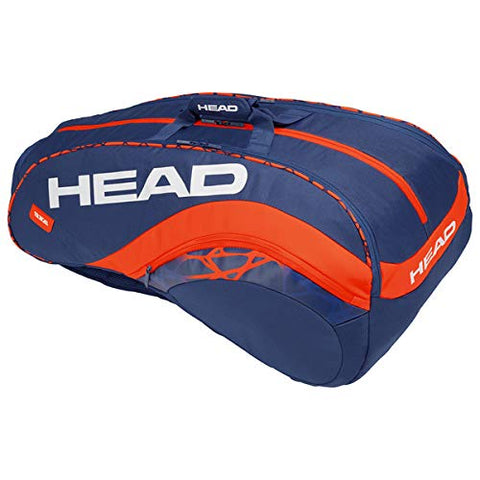 Head Radical 12R Monster Combi Kit Bag (Blue/Orange) - Prokicksports.com