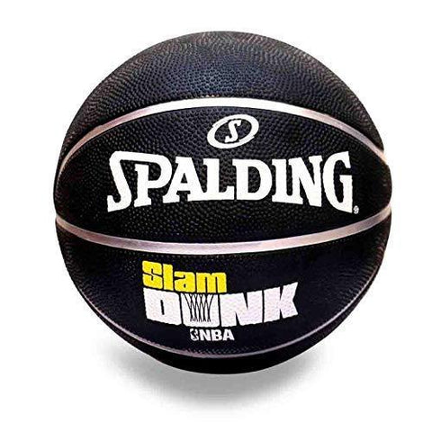 Spalding Slam Dunk NBA Basketball (Black) - Best Price online Prokicksports.com