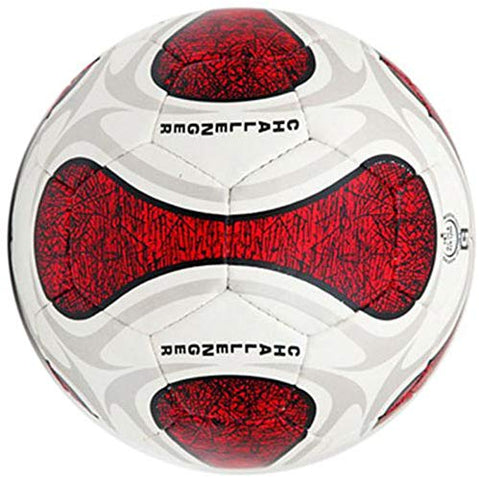 Vicky Challenger Football, White/Red- Size 5 - Prokicksports.com