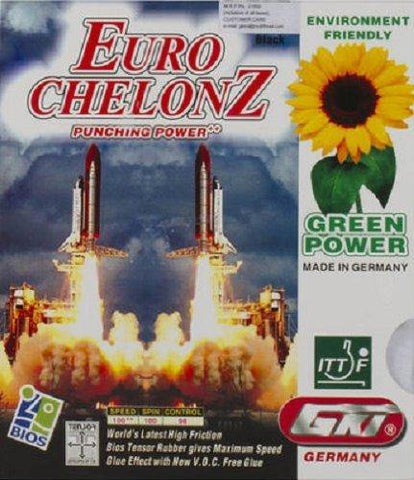 GKI Euro Chelonz Table Tennis Rubber - Red - Best Price online Prokicksports.com