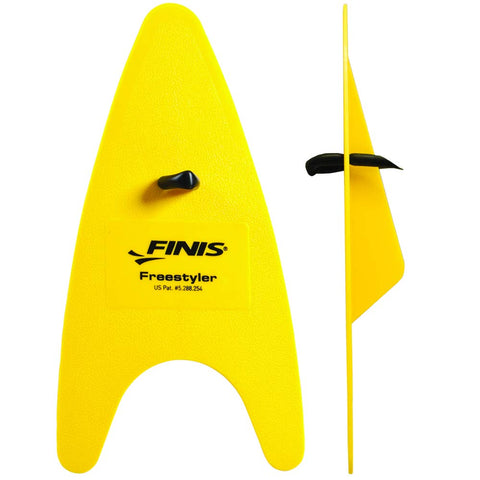 Finis Freestyler Hand Paddles (Yellow) - Best Price online Prokicksports.com