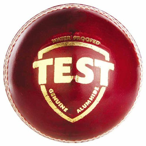 SG Test Leather Ball (Red) - Best Price online Prokicksports.com