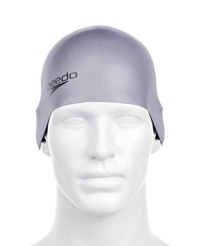 Speedo Silicon Moulded Swimcap (Grey) - Best Price online Prokicksports.com