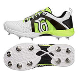 Kookaburra Cricket Shoes Spike, Fluo Yellow - Prokicksports.com