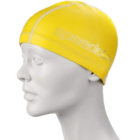Speedo 8720732177 Nylon Pace Cap, 1SZ (Yellow) - Best Price online Prokicksports.com