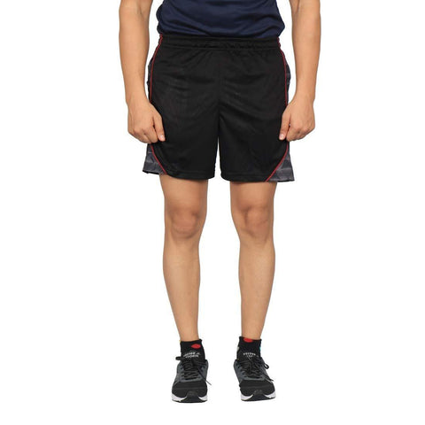 Vector X VS-2900 Polyester Material Shorts for Men, Black - Best Price online Prokicksports.com