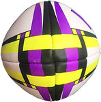 HRS Club Rugby Ball, Size-5, Purple Yellow - Best Price online Prokicksports.com