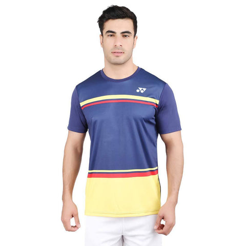 Yonex 1792 Polyester Badminton Choice of Champion Series T-Shirt, XS (Patriot Blue) - Best Price online Prokicksports.com