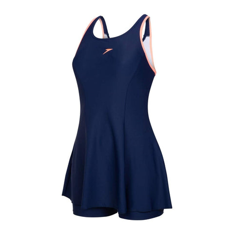 Speedo 802878P025 Racerback Swimdress with Boyleg - Best Price online Prokicksports.com