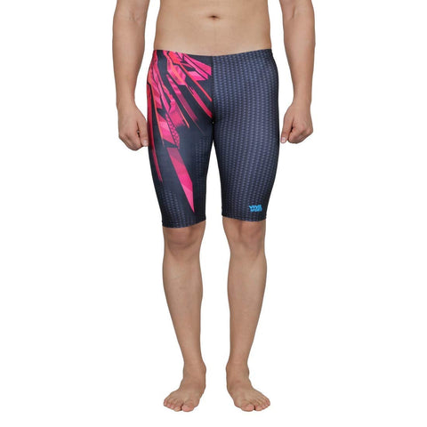Viva Sports VSJ-003 Adult's Swimming Jammers (Black-Red) - Best Price online Prokicksports.com
