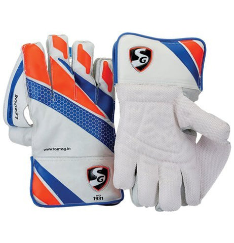 SG League Wicket Keeping Gloves - Prokicksports.com