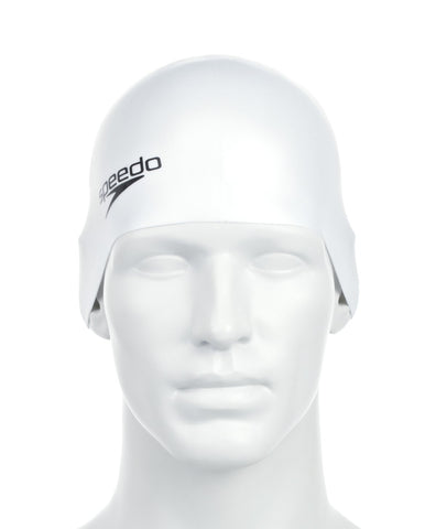 Speedo Unisex-Adult Plain Moulded Silicone Swimcap - Best Price online Prokicksports.com