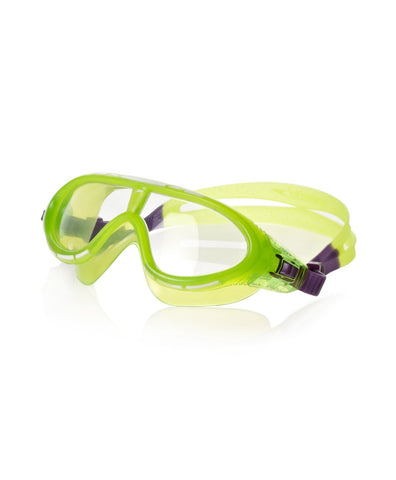 Speedo Unisex - Junior Rift Goggles (Green/Purple) - Best Price online Prokicksports.com