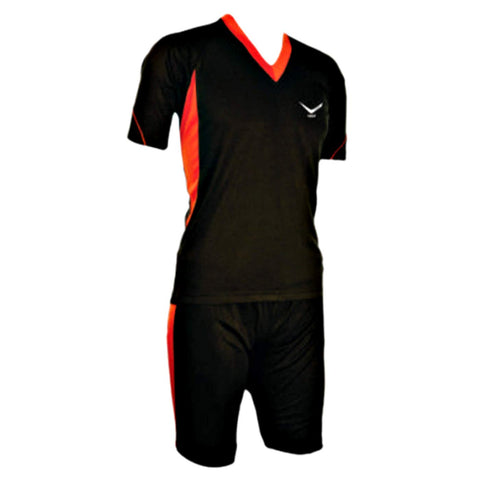 Vicky Soyuz Football Jersey Set, Black - Best Price online Prokicksports.com