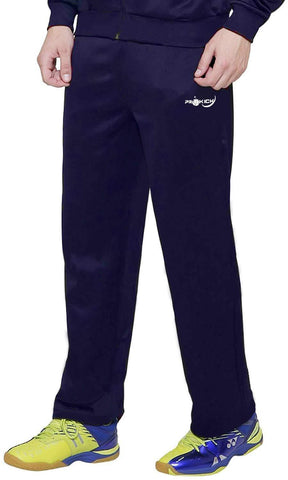 Prokick Men's Regular fit Sweat Control Sports Track Pant Navy - Best Price online Prokicksports.com