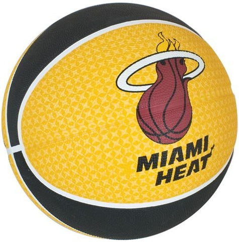 Spalding Miami Heat Team Basketball, Size 7 - Best Price online Prokicksports.com