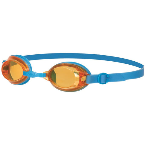 Speedo Jet junior Goggles, Junior One Size (Blue/Orange) - Best Price online Prokicksports.com
