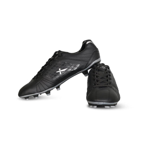 Vector X Velocity Football Shoes, Adult Black/Silver - Best Price online Prokicksports.com