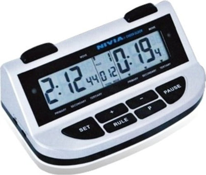 Nivia DG566 Digital Chess Clock (Black/Grey) - Best Price online Prokicksports.com