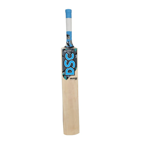 DSC Wildfire Heat Tennis Cricket Bat Short Handle Mens - Prokicksports.com