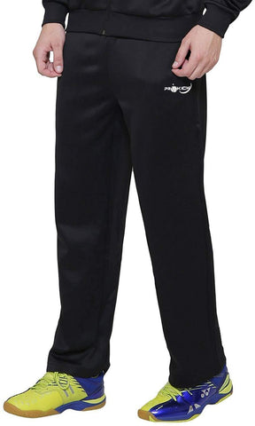 Prokick Men's Regular fit Sweat Control Sports Track Pant Black - Best Price online Prokicksports.com