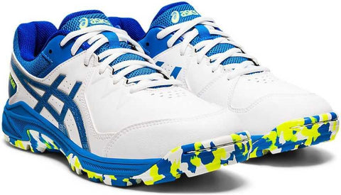 Asics Gel Peake Men's Cricket Shoes White/Directoire Blue - Best Price online Prokicksports.com