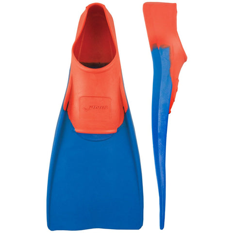 Finis Long Floating Fins (Red/Blue) - M - Prokicksports.com