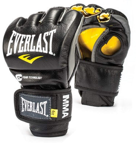 Everlast 7674 Powerlock Fight Gloves (Black) - Best Price online Prokicksports.com