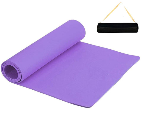 Prokick Anti Skid EVA Yoga Mat for Men and Women - 6MM - Purple - Best Price online Prokicksports.com