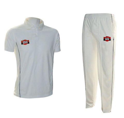 SS Super Half Sleeve Cricket Dress Set Combo (Set of T-Shirt and Trousers) - Best Price online Prokicksports.com