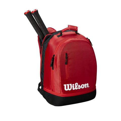 Wilson Wilson Team Backpack, Black/Red - Best Price online Prokicksports.com